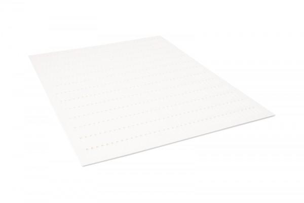 Zander Plastik Stanzgitter weiß
