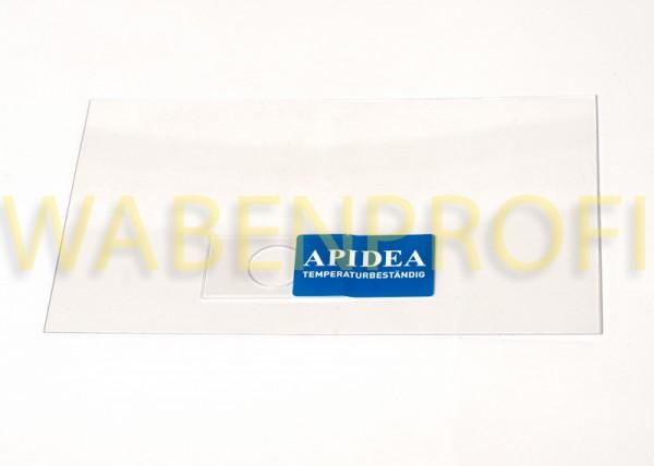 Apidea Klarsichtdeckel mit Klappe wärmebeständig