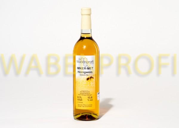 Honigwein-Met 0,7L lieblich Flasche