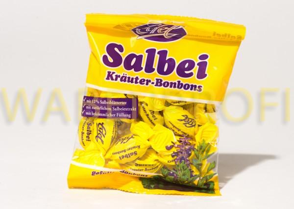 Salbei Bonbons gefüllt