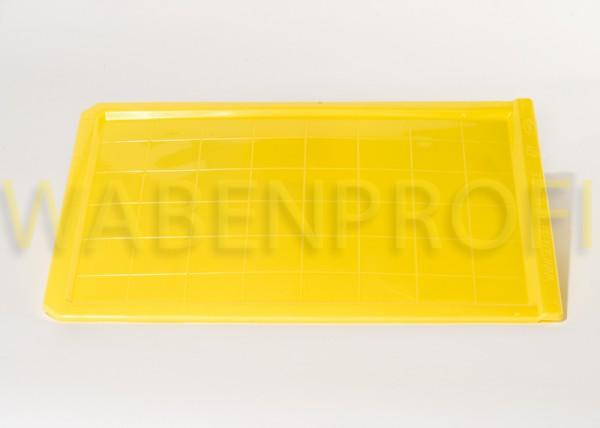 Standard Bodenschieber zur Varroakontrolle Gelb 467x354mm