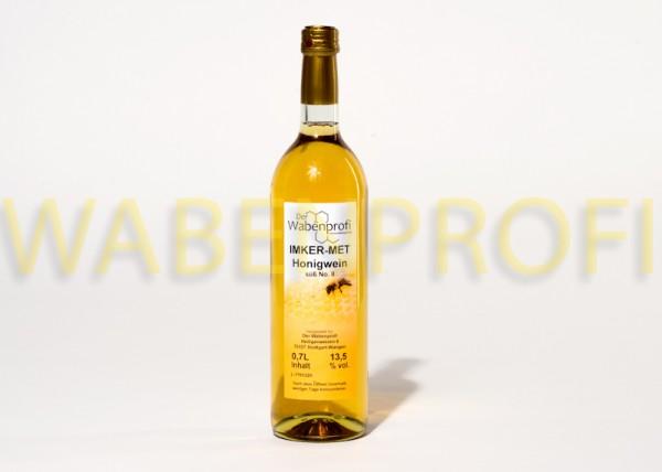 Honigwein-Met 0,7L süß Flasche