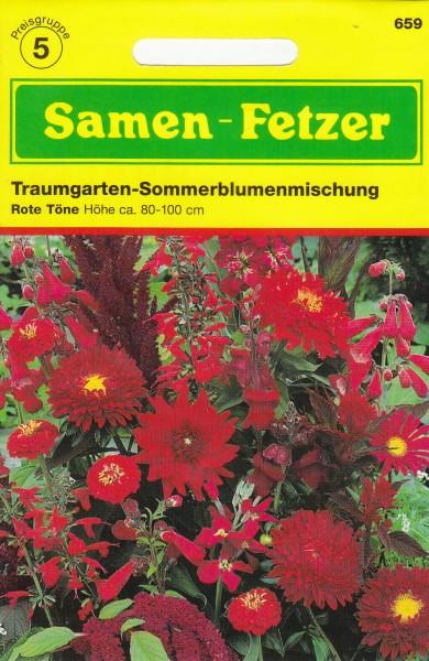Sommerblumenmischung Rot