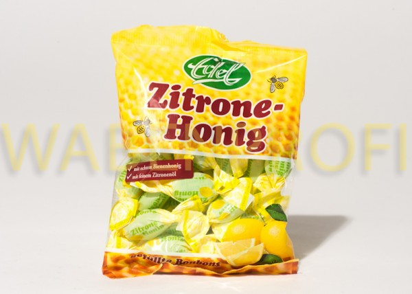 Zitrone Honig Bonbons