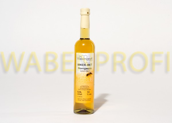 Honigwein-Met 0,5L lieblich Flasche