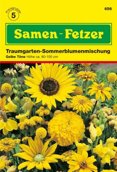 Sommerblumnemischung Gelb