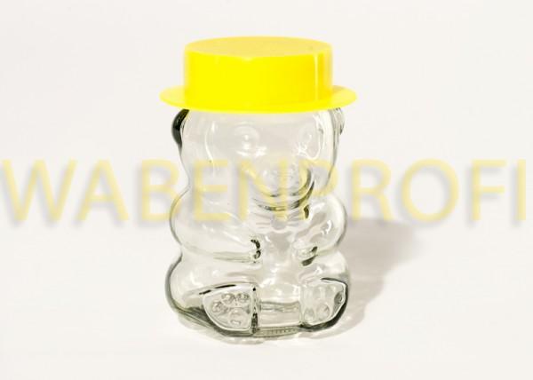 Bärchenglas mit gelbem Hut 287ml