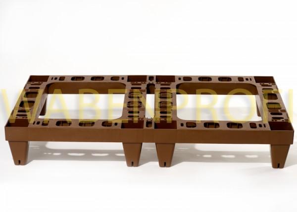 Mobiler Beutenbock für 2 Beuten 960x525cm