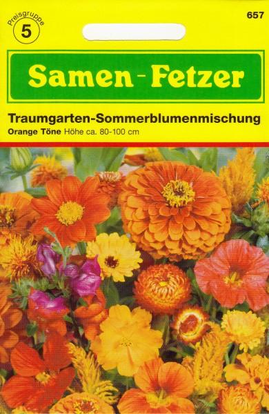 Sommerblumnemischung Orange