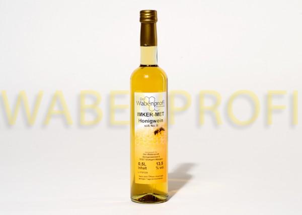 Honigwein-Met 0,5L süß Flasche