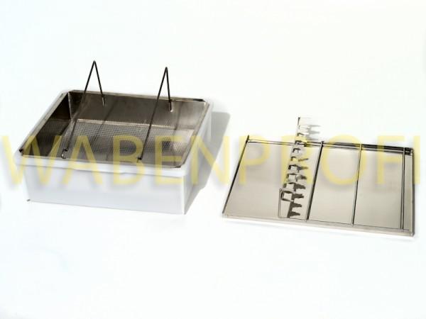 Bieno Metall Entdecklungsgeschirr für 1 Person