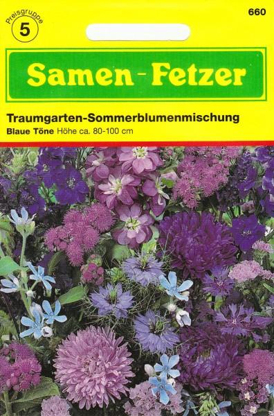 Sommerblumenmischung Blau