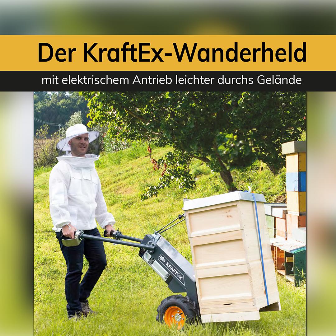 Der KraftEX Wanderheld