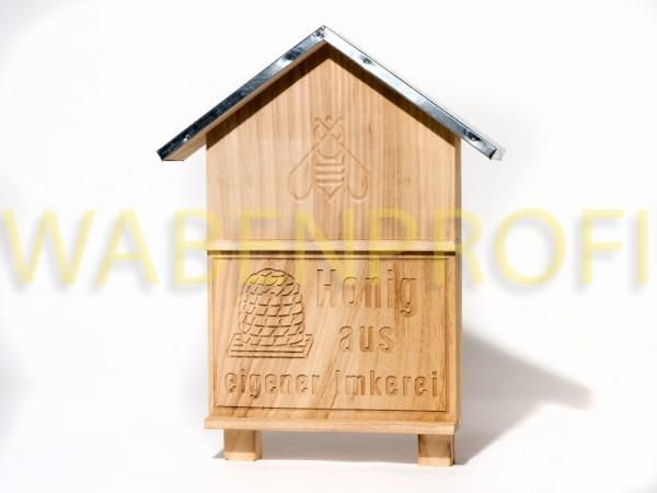 Honig aus eigener Imkerei Holzausführung
