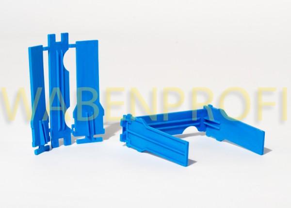 Apidea Kunststoff Rähmchen blau kochfest